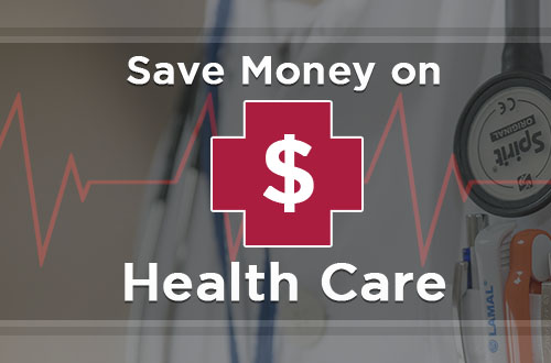 Save Money on Health Care banner