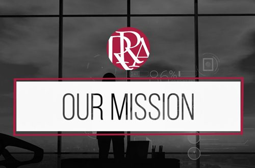 Robertson Ryan logo and the words Our Mission
