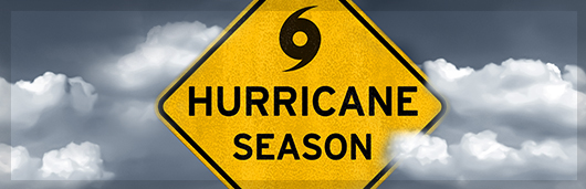 Hurricane Season signage