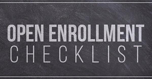 Open Enrollment checklist image